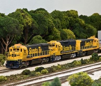Eastern Illinois Santa Fe 187 The Model Railroad